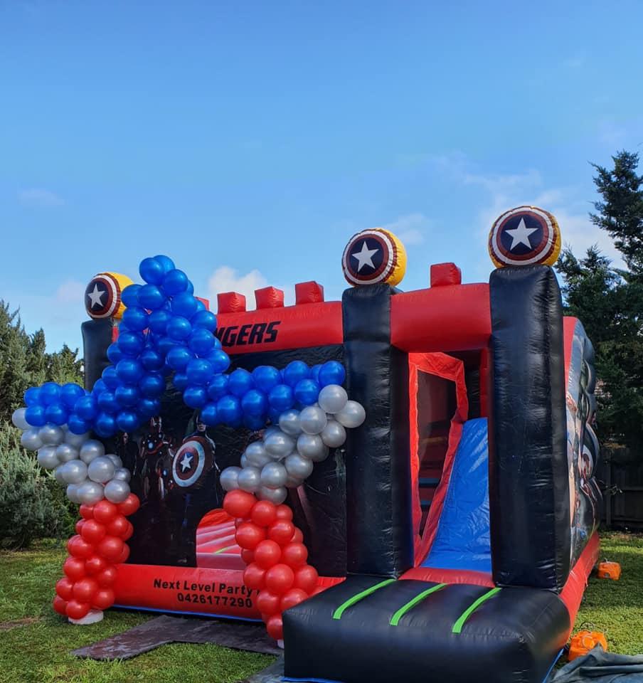 Next Level Party Hire Captain America