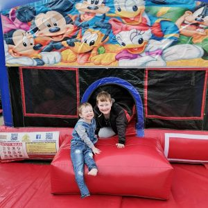 Stress Less Party Hire Disney jumping castle