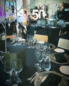 Stress Less Party Hire table layouts