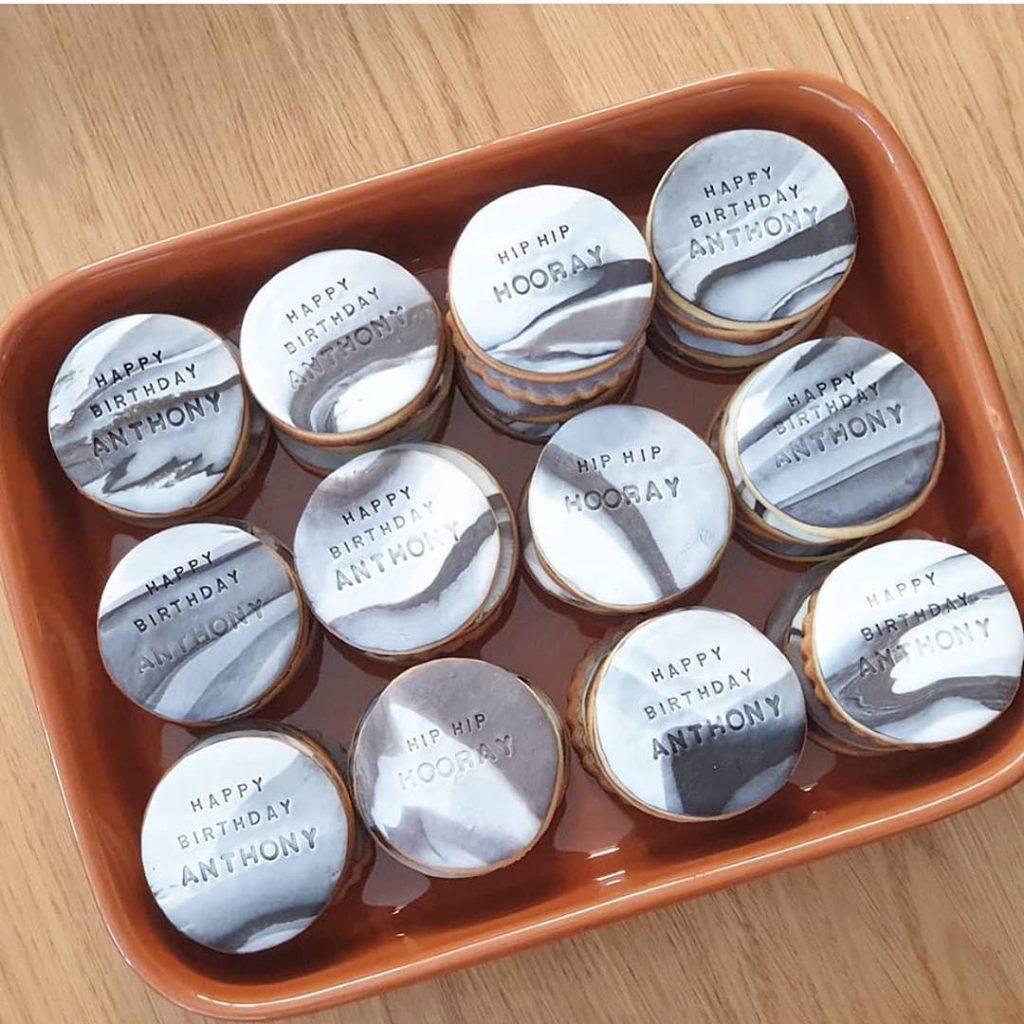 Sugar Cookie Company birthday cookies