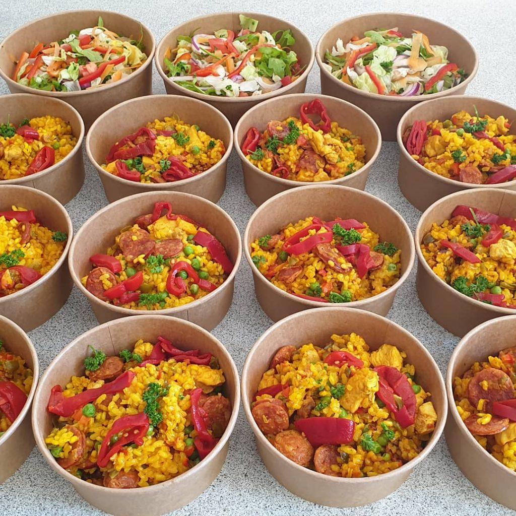 Tapas Market paella bowls