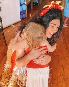 Twinkle Time Parties Moana character