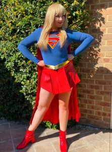 Twinkle Time Parties Superwoman character