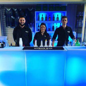 The Mobile Bar Company bar staff