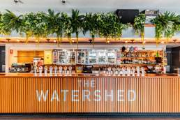 The Watershed Hotel bar front