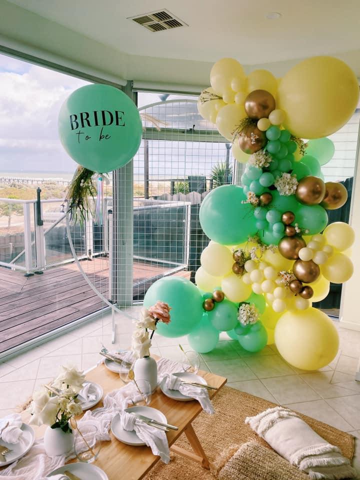 A Pop Of Joy bride to be