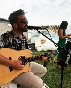 Adrian Joseph Music waterside