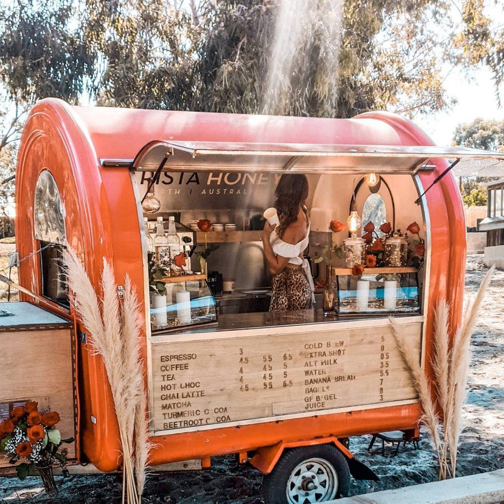 Barista Honeys truck