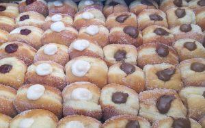 Base WF Pizza donuts