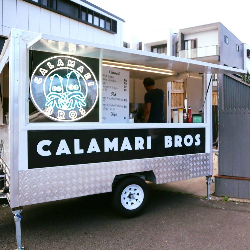 Calamari Bros truck
