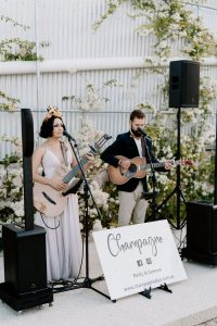 Champagne Duo stage