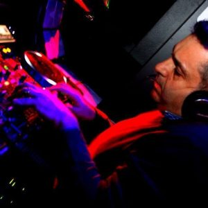 DJ Jimmy V decks