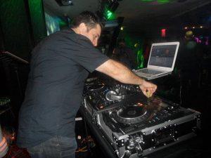 DJ Jimmy V party