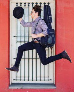 Dan Lowe Music Co. jumping