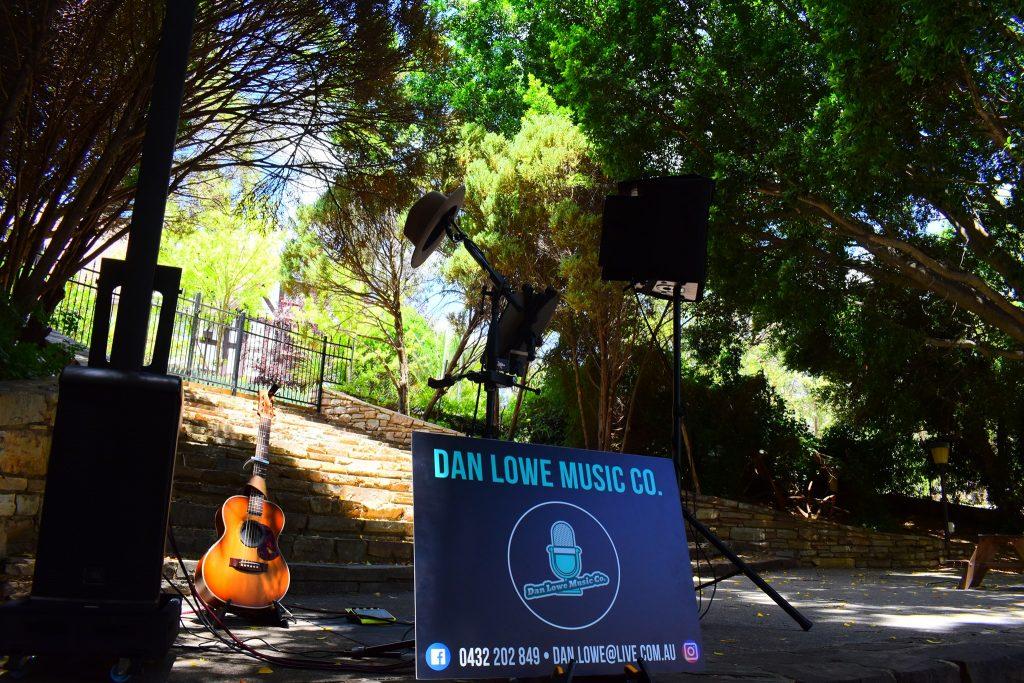 Dan Lowe Music Co. setup