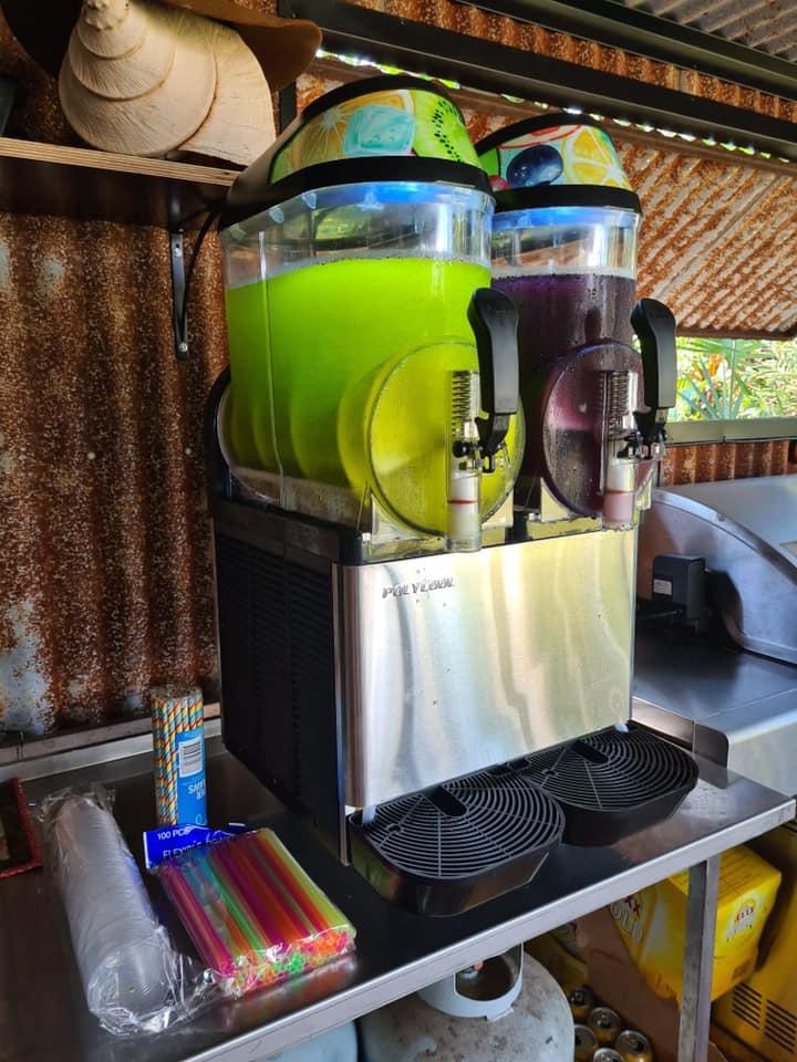 Darwin Slushie Machine Hire grape