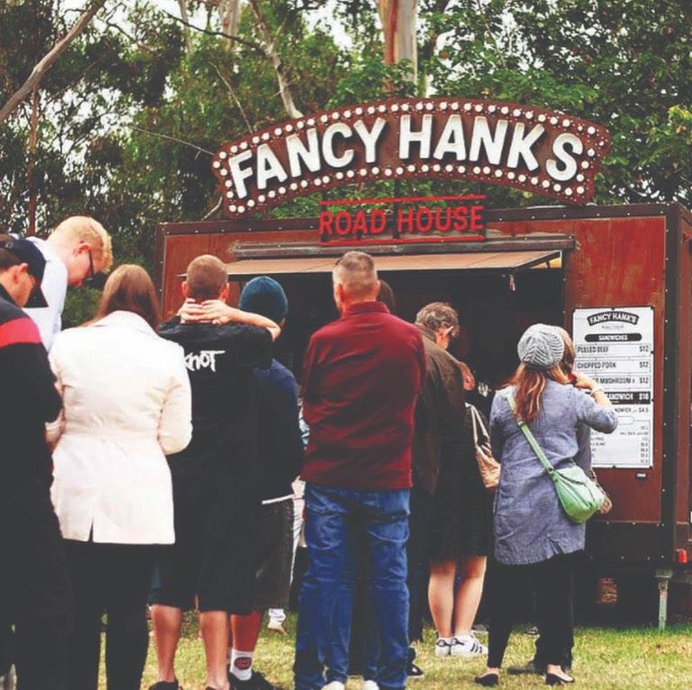 Fancy Hanks BBQ truck