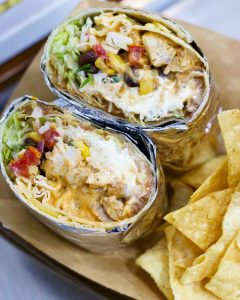 Fry Yay Food Truck burrito