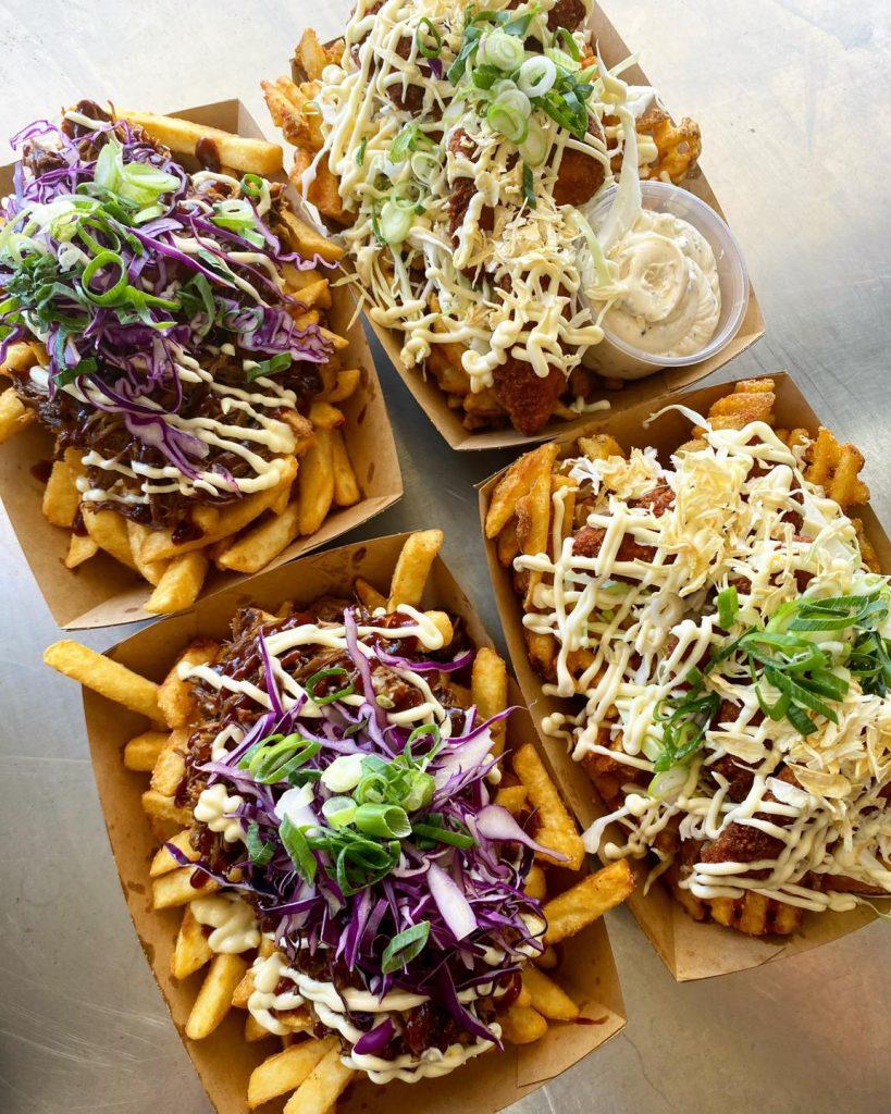 Fry Yay Food Truck food