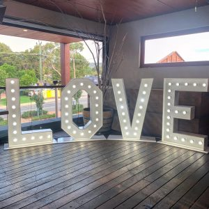 Hills Slushie And Party Hire letters