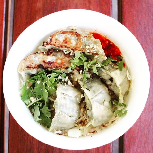 Jumplings vegetable dumplings