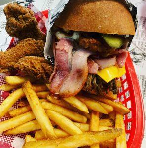 La Parrilla bacon brisket burger