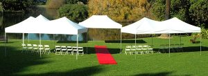 Instant Marquee Hire Melbourne wedding
