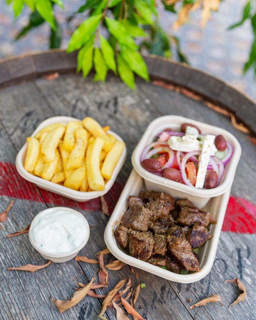 that greek truck food
