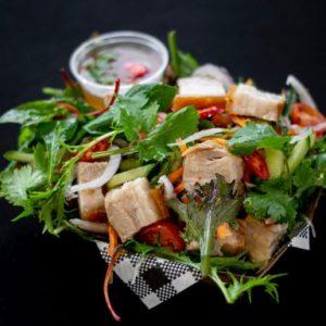 dirty swine thai salad