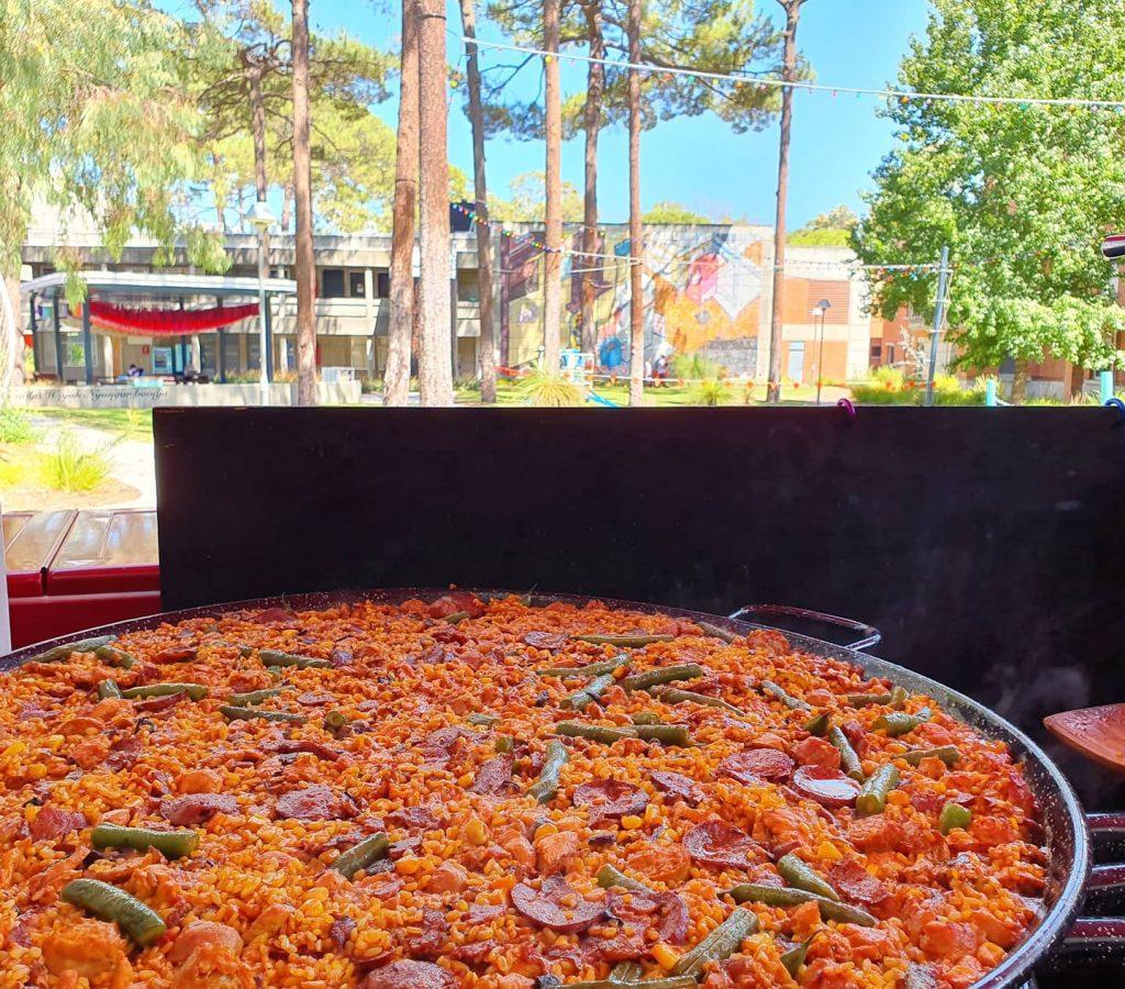 spanish casa catering