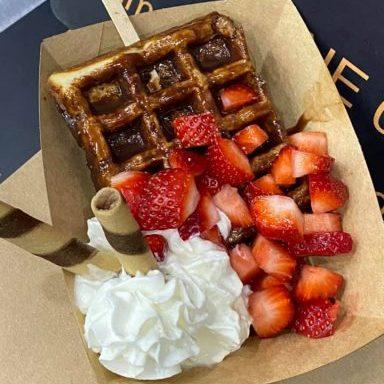 ultimate indulgence waffles