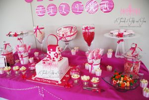 A Touch Of Glitz And Glam lolly table