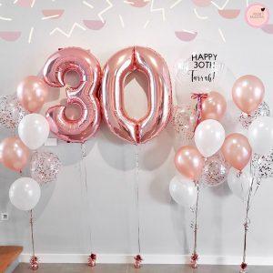 Adore Balloons 30th