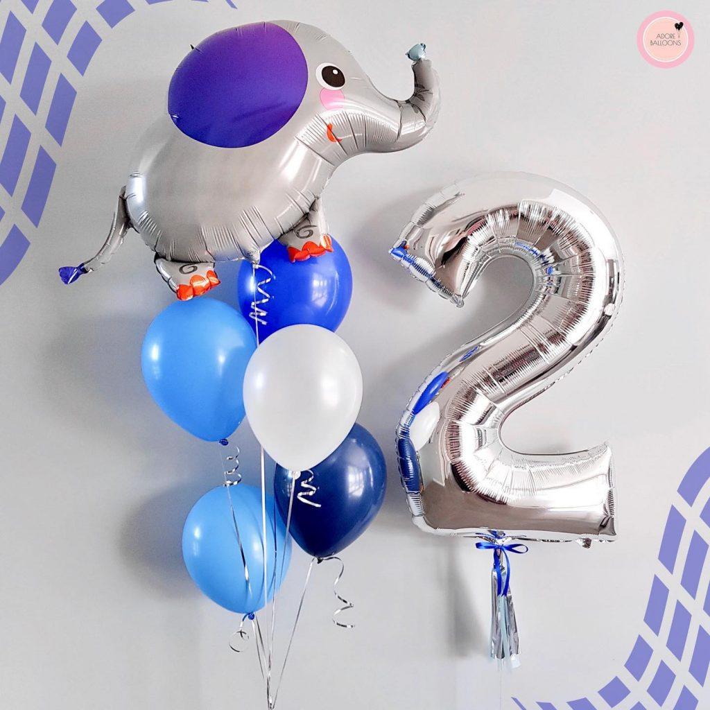 Adore Balloons elephant