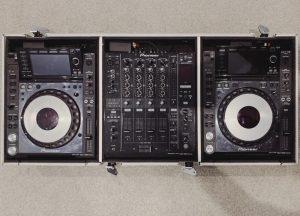 Allfriends AV Hire DJ setup