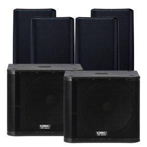 Allfriends AV Hire speaker package