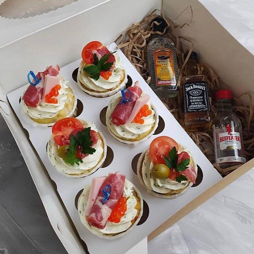 Babushka alcohol and cupcakes