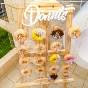 Beautiful Beginnings Party Hire donut wall