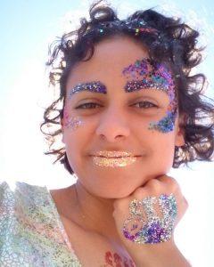 Born To Sparkle face paint