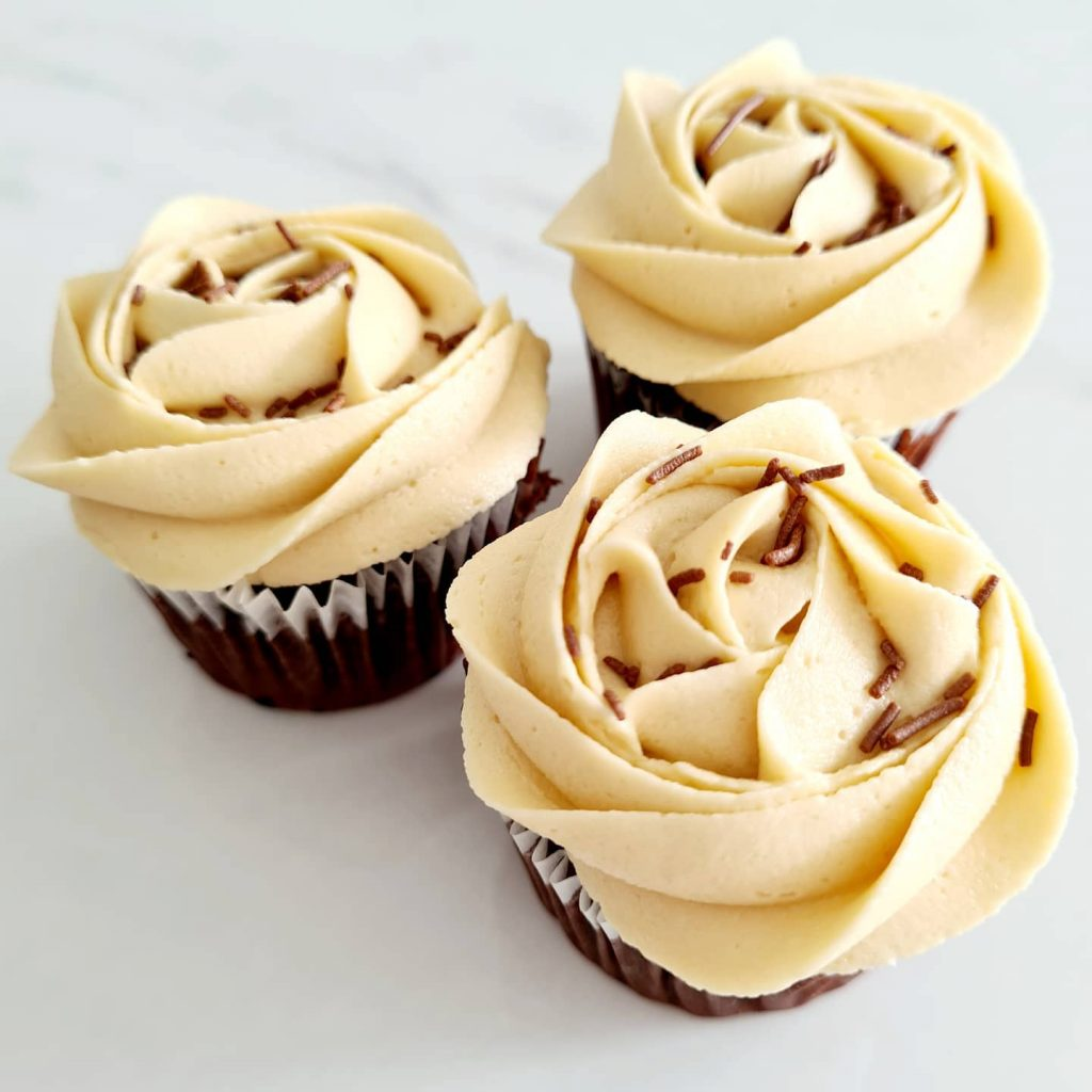 Butterwhisk coffee cupcakes