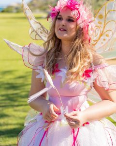 Clarty Parties fairy entertainer