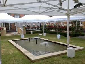 Instant Marquee Hire Melbourne corporate garden events