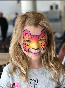 Creative Faces tiger face paint