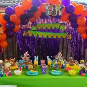 D Dream Event scooby doo birthday