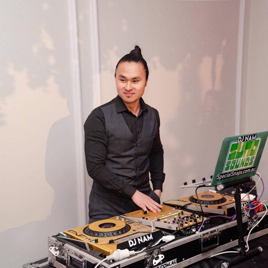 DJ Nam decks