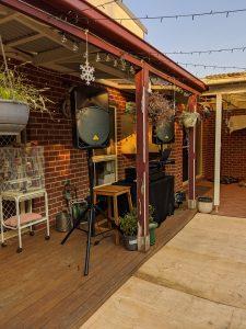 DUBS Entertainment backyard setup