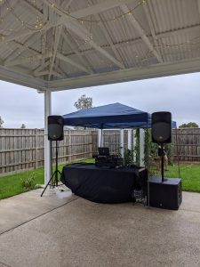 DUBS Entertainment stage setup