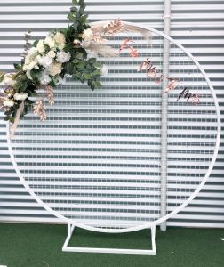 Event Hire Adelaide white wall hire
