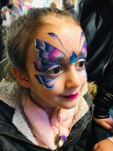 Fairy and the Frog face paint