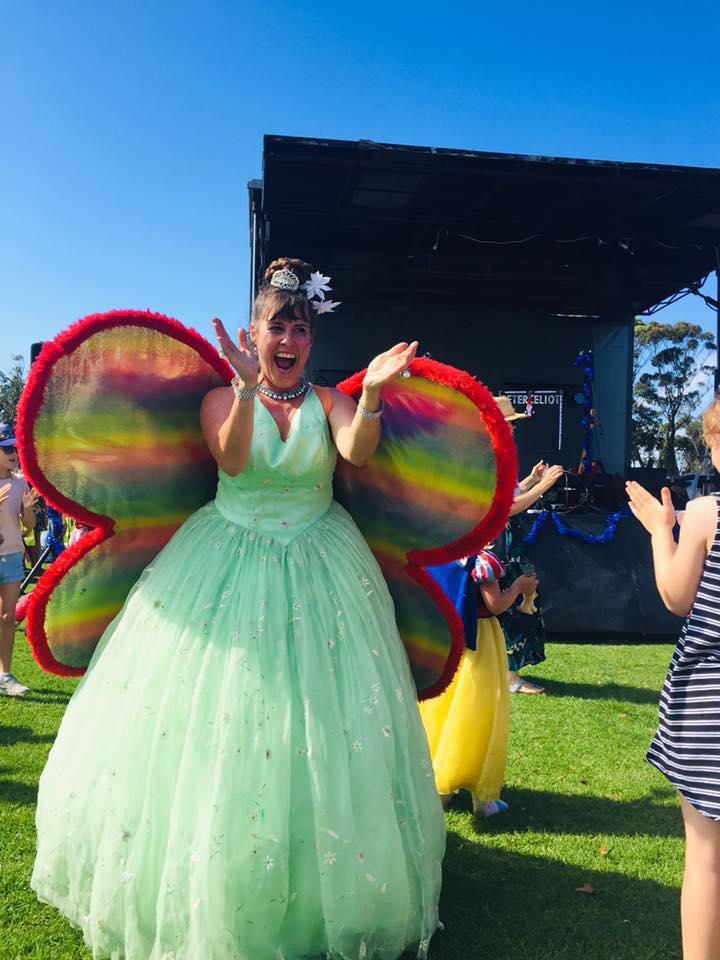 Fairy Skye Rainbow butterfly wings
